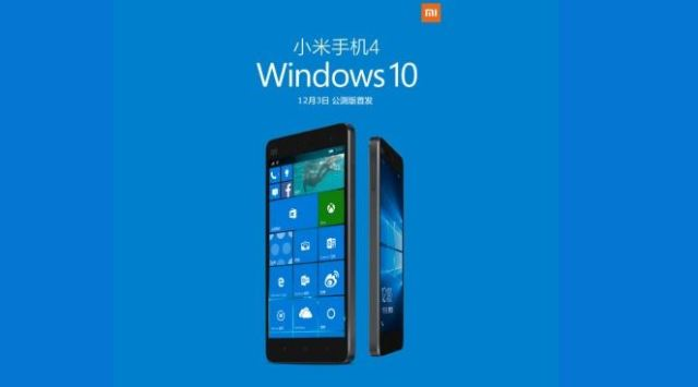 Smartphone Xiaomi Berbasis Windows 10