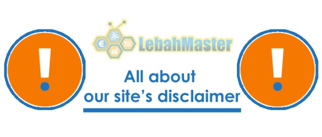 Disclaimer Website Lebah Master