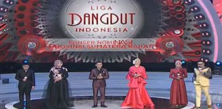 Peserta Perwakilan sumatera Barat Liga Dangdut Indonesia