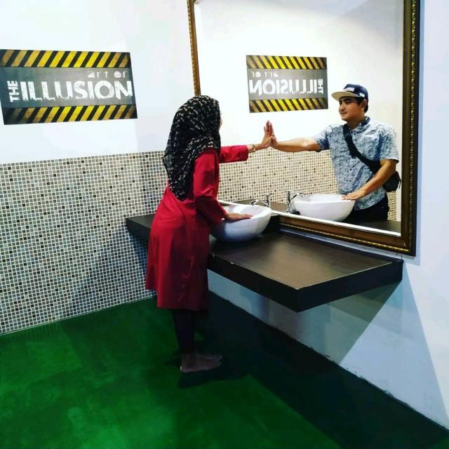 Tempat Kekinian di Bogor The Illusion