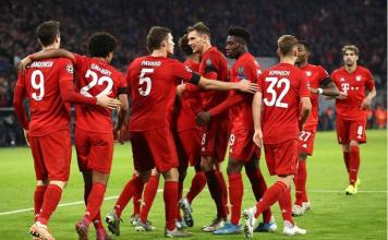 hasil liga champions tadi Bayern vs Olympiakos