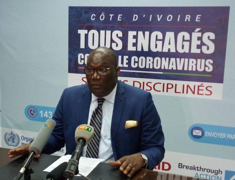 Infection au Coronavirus en Côte d'Ivoire : 55 nouveaux cas