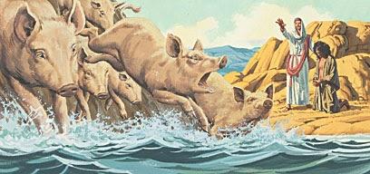 Jesus demons pigs