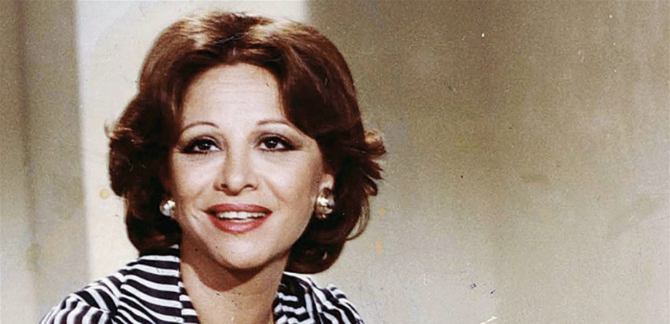 A rare picture from Faten Hamama's childhood in her 81-year debut role