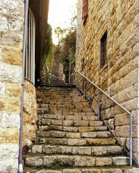 Old stairways often hide the most interesting stories in ...