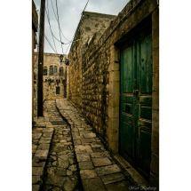 Lebanon Heritage Door Stone Alley Floor Street