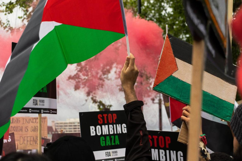 Israeli Crimes Against the Palestinians   Lebanon Law Review   Palestine Flag Demonstration