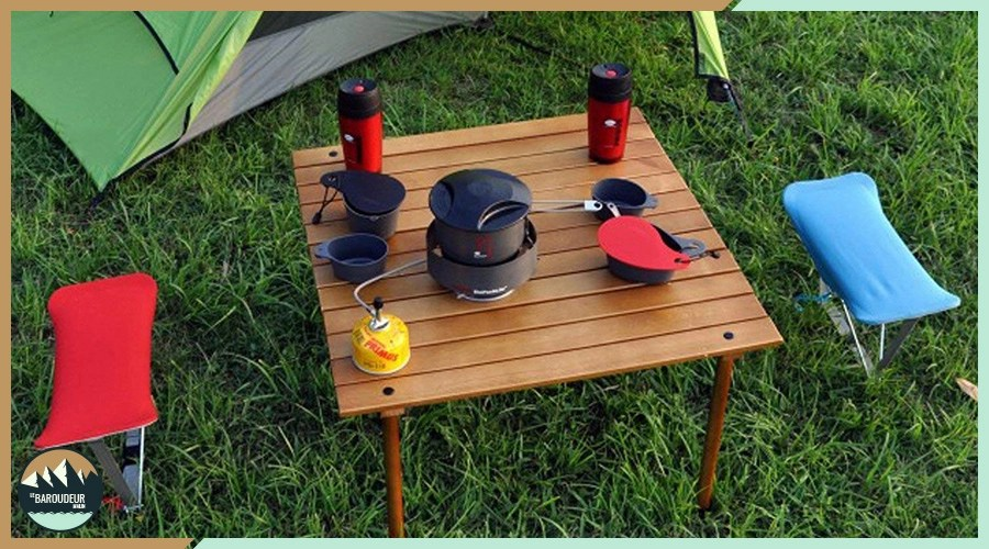 Comment nettoyer sa table de camping