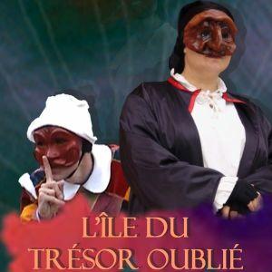 Spectacle de Commedia dell'Arte pour Jeune Public de Philippe Pillavoine L'île du trésor oublié