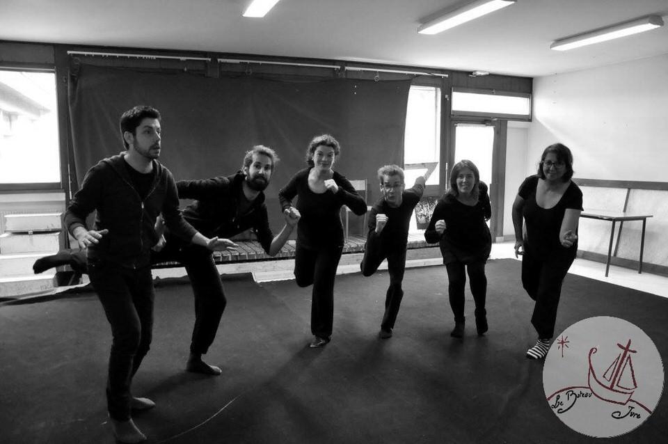stage de mime pour adultes animé par l'artiste mime Philippe Pillavoine
