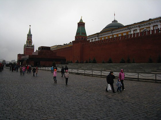 Thankfully, the Red Square was open. It has been closed every time we try to come here.