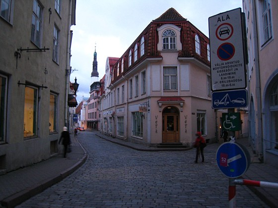 Old Town is all cobblestone roads.