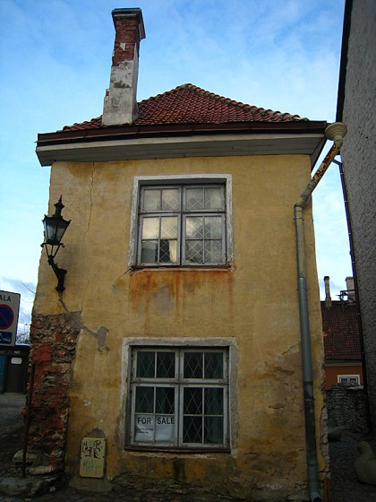 This building was for sale and the exchange rate was pretty good so we bought it. I'm moving in after Christmas break.
