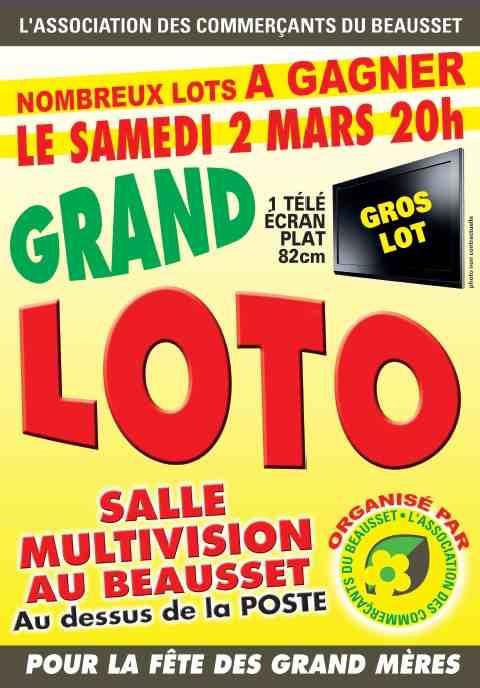 L 39 association des commer ants du beausset organise son loto le beausset info - Office du tourisme le beausset ...