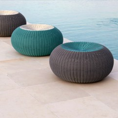 Outdoor Pouf Chair Tall Folding Chairs Directors Spinball Stools : Lebello.com