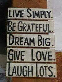 Leben. Mach´s einfach!
