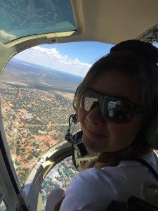 Helikopterflug Afrika Victoria Falls