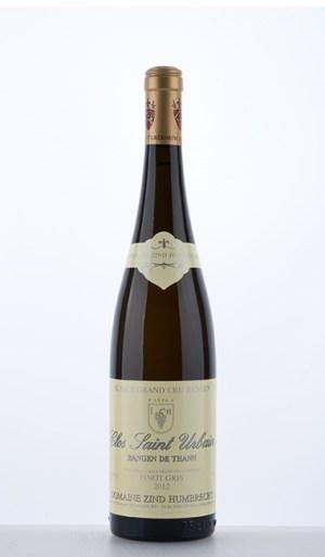 Pinot Gris Rangen de Thann Clos Saint Urbain Grand Cru 2012 Domaine Zind Humbrecht
