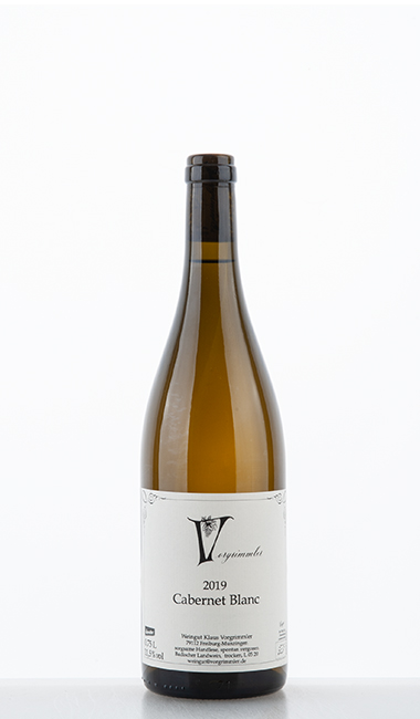 Cabernet Blanc 2019 –  Klaus Vorgrimmler