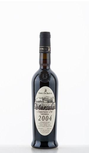 Marsala Superiore Oro Riserva 2004 DOC 2004 500ml –  Marco de Bartoli
