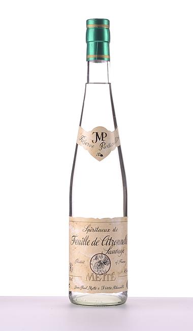 Feuille de Citronnelle (Zitronenkraut) 2021 700ml –  Jean-Paul Metté