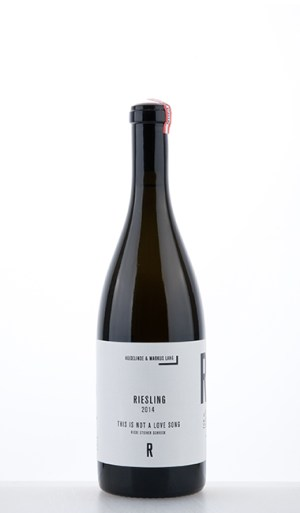 """Riesling Riede Steiner Schreck """"This is not a love song"""" 2014"""