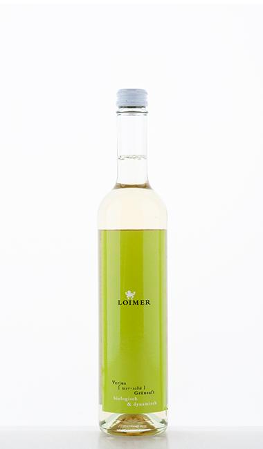 Verjus Grünsaft NV 500ml –  Loimer