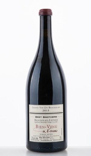 """Beaujolais-Leynes Bien-Venu """"en X-tremis"""" 2013 1500ml - Bret Brothers"""