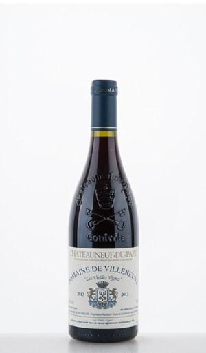 """Châteauneuf-du-Pape """"Les Vieilles Vignes"""" 2013 –  de Villeneuve"""