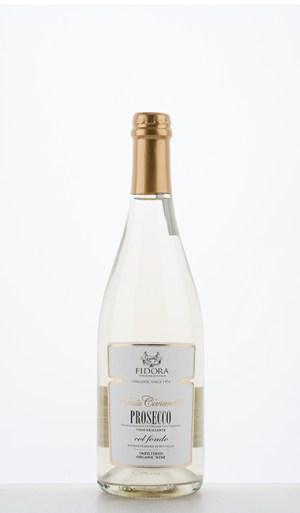 """Civranetta Prosecco DOC Frizzante """"col fondo"""" fermentation en bouteille non filtrée NV - Fidora"""
