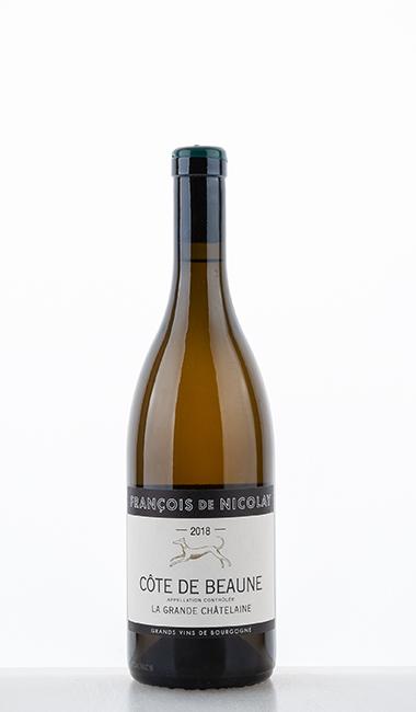 """Côtes de Beaune """"La Grande Chatelaine"""" blanc 2018 - François de Nicolay"""