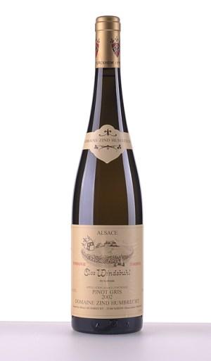 Pinot Gris Clos Windsbuhl Vendanges Tardives 2002 –  Domaine Zind-Humbrecht