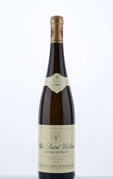 Pinot Gris Rangen de Thann Clos-Saint-Urbain Grand Cru 2012 - Domaine Zind-Humbrecht
