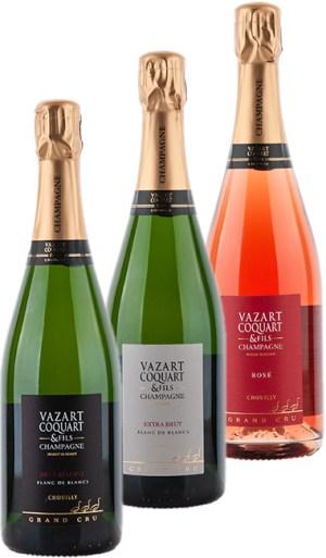 Forfait dégustation Champagne Vazart-Coquart 2021 - Forfait dégustation