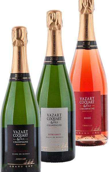 Probierpaket Champagne Vazart-Coquart 2021 –  Probierpaket