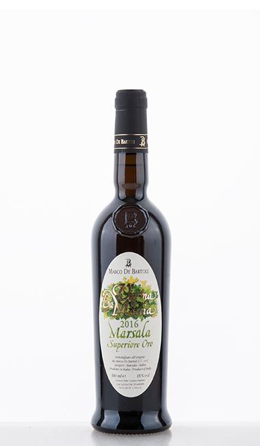 Vigna La Miccia Marsala Superiore Oro DOC 2016 500ml - Marco de Bartoli