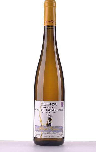 Pinot Gris Altenbourg Sélection de Grains Nobles 2003 375ml