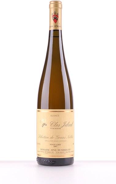Pinot Gris Clos Jebsal Sélection de Grains Nobles 2007 375ml