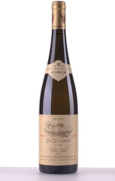Pinot Gris Clos Windsbuhl Vendanges Tardives 2002 375ml