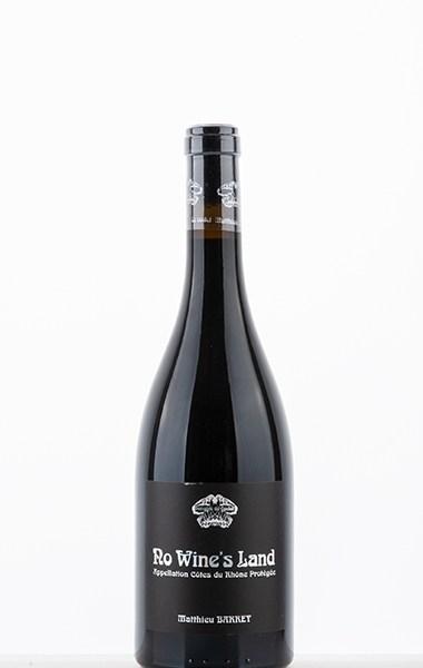 """Côtes Du Rhône """"No Wine's Land"""" rouge 2019"""