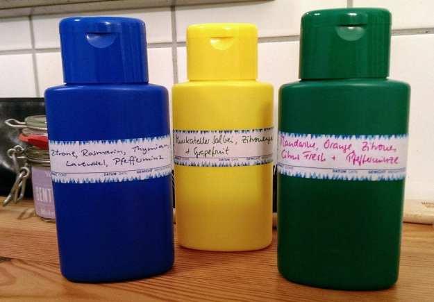 Bio-Duschgel selbst beduftet mit ätherischen Ölen