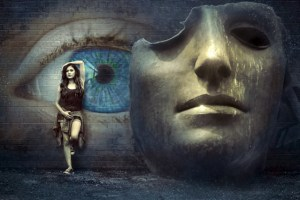 Frauen Maske