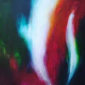 "lichtstrahl 01 | 2005 | Acryl auf Leinwand 90x95 cm  ""lichtstrahl01""©Raphaela C. Näger2005"