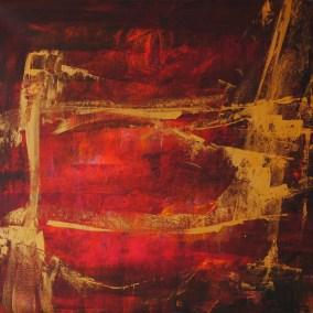 "die brücke | 2007| VERKAUFT | Acryl auf Leinwand 95x90 cm | ""die brücke""©Raphaela C. Näger2007"