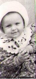 Helene als kleines Kind