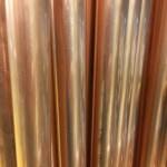 Neue Kupferrohre im Handel