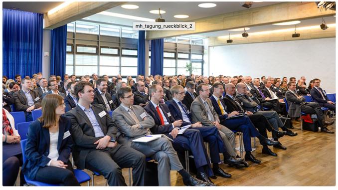 Bis auf den letzten Platz gefüllt: die Mülheimer Tagung 2016