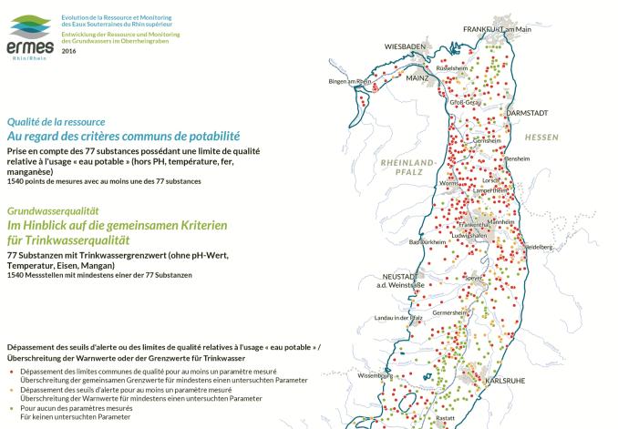 Trinkwassergrenzwertüberschreitungen (Q. ERMES Rhein, Seite 40)
