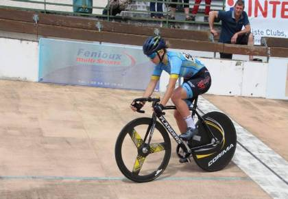 The Bourges velodrome hosts the French championships from this Saturday