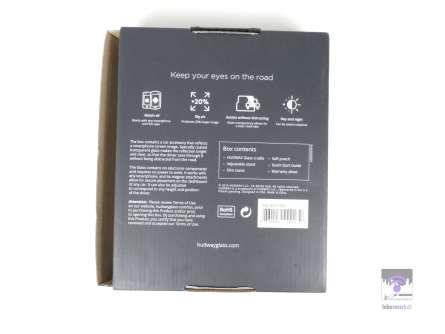 Die Verpackungsrückseite